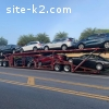 8 cars hauler Sun Valley + Volvo truck